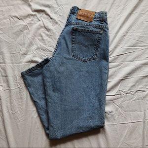 Vintage Highwaisted Levi Jeans